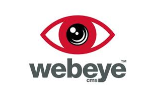 webeyeCMS UK and US logo
