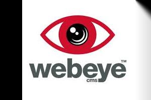 webeyeCMS logo